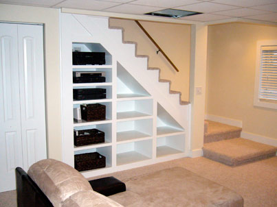 basement built